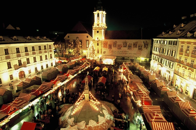 Christmas Bratislava.Christmas Market In Bratislava Theslovakiatimes Com