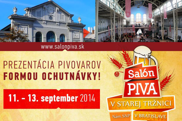 The 1st Beer Salon will take place in the Old Market Hall of Bratislava
